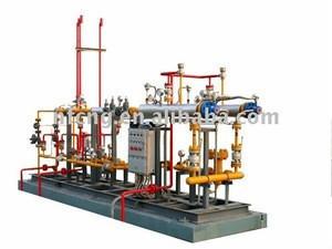 Natural Gas Pressure regulating station