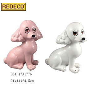 New Wholesale And OEM Factory Manufacture Art Craft Ceramic Dogs For Sale