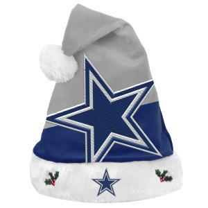 NFL Dallas Cowboys Santa Hat beanie, One-size