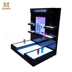 Professional Design Tabletop Acrylic Skin Care Product Display Stand
