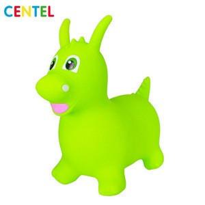 Rideon animal toy pvc inflatable dinosaur toys for kids toddler hopper animal toy