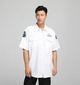 Security guard uniform factory custom summer short sleeve guard uniform