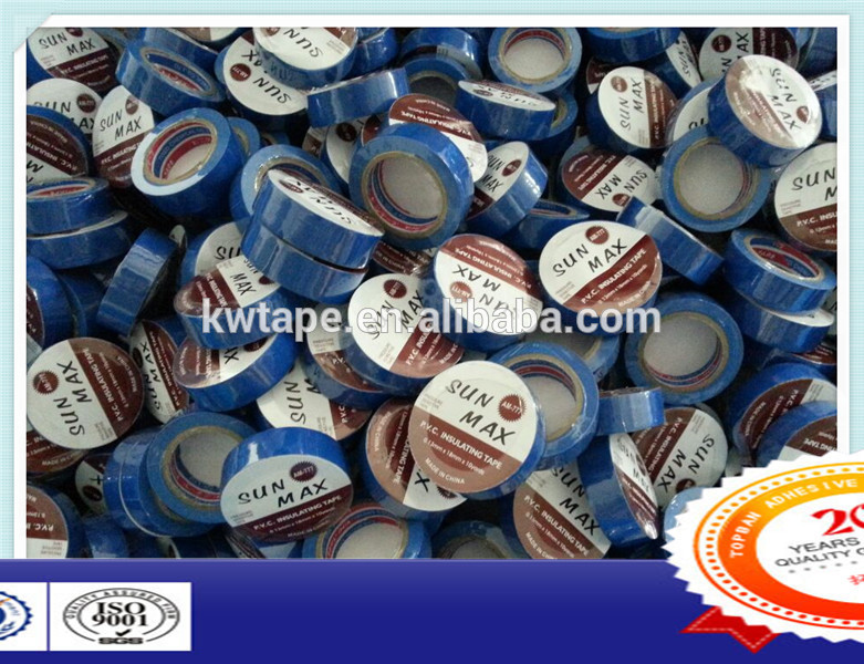 Shinrk packing pvc electrical tape