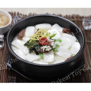 Special tailor-made OEM fake korea rice cake soup Pickles model for restaurant display tofu
