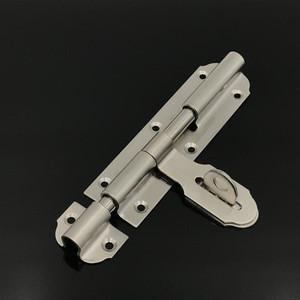 Stainless Steel Heavy Duty Barrel Bolt/ Slide Lock Bolt For Garage Door