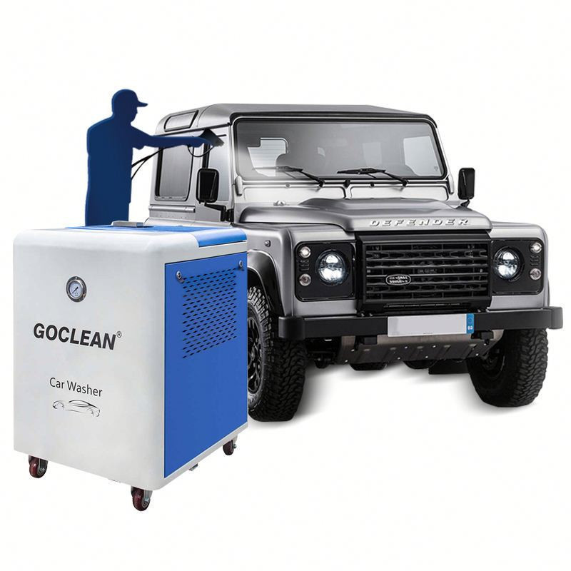 Steam car washing mobile car wash equipment