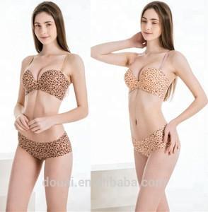 Teenager women underwear bra sexy bra and panties lingerie set