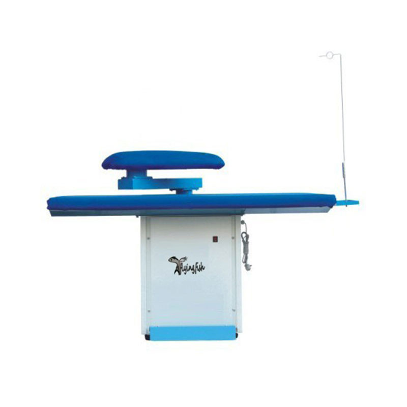 Various laundry ironing table for dry cleaning shop, garment factory