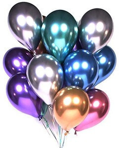Wholesale 12 Inch Party Multicolor Latex Balloons Birthday Wedding Decoration Pearl Metallic Balloons Chrome Balloons