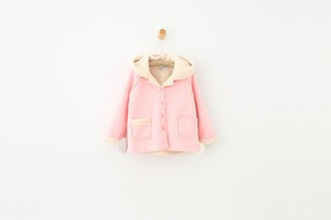 Winter with hat kids clothes wholesale plain and colorful design baby winter coats jackets baby girl coat 1031
