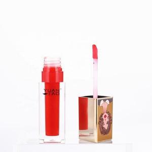 Yuantao CBD girls series lip gloss set Manufacturer OEM Waterproof Sunscreen Long lasting Private label liquid lipstick set