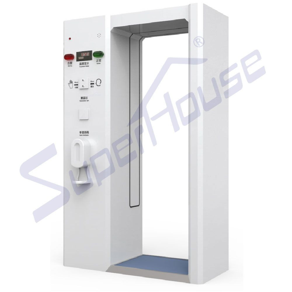 Public entry use disinfection channel intelligent machine