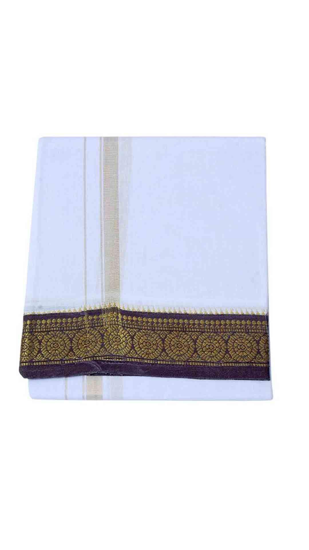 Handloom White Cotton Lungis