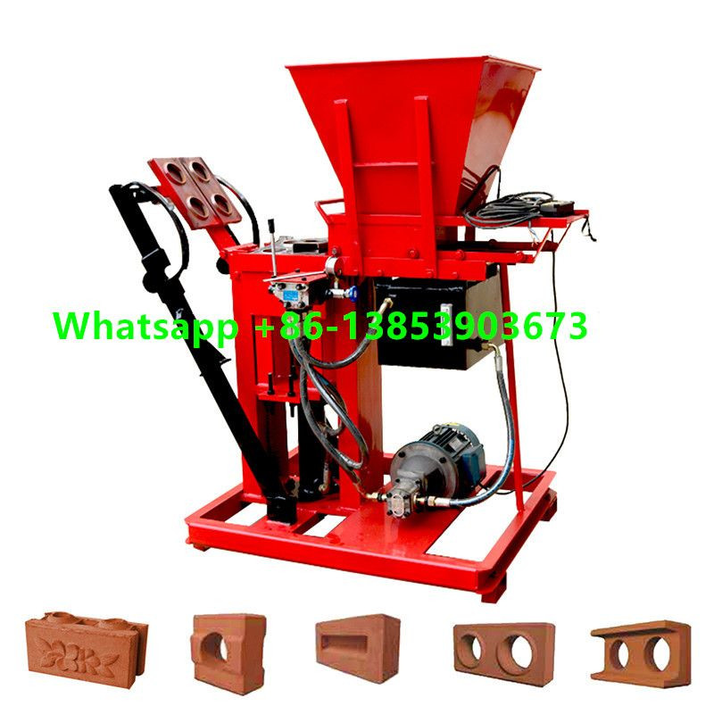Hydraform earth soil brick making machine