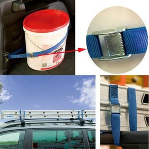 2pk Metal Cam Buckle Tie Down Strong Nylon Quick Lock Strap Luggage Cargo Lash Fasten Belt