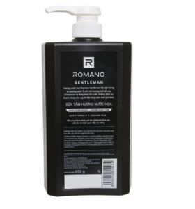 650 bottle packing perfume shower cream gentleman black Refreshing, moisturizing the skin for men product good price