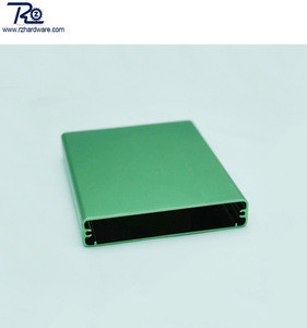 Anodized aluminum HDD hard disk drive enclosure SSD casing