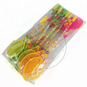 Badminton racket toy candy