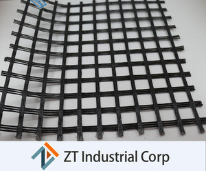 Biaxial geogrid steel wire mesh / mining geogrid