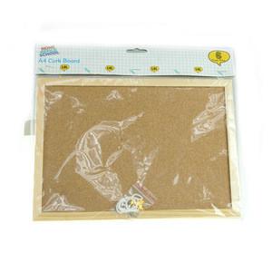 Cheap A4 cork board world map cork pin board
