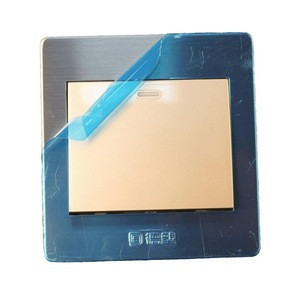 Cheap price top quality big faceplate 1 gang 1 way electrical wall switch