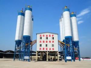 Concrete admixture mixing plant HZS120 with cheap price for sale