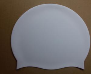 Custom Printing Round Silicone Seamless Swimming Cap