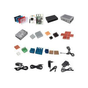 Different Type Raspberry Pi 3 Model B/Pi 2/B+ Aluminum Cooling Heatsink Case Fan Set Kit Accessories