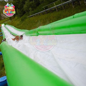 EN 14960 Safety norm Good Quality  Inflatable Big Waterslide, 200m Long Water Slide Inflatable Price