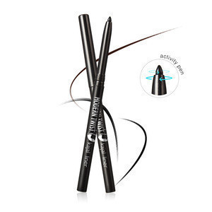 Eye Liner Pen Makeup Pencil Eyeliner Stamp Delineador De Ojos Waterproof Glitter Liquid Fast Dry Draw  Long Lasting Eyeliner