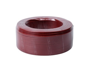 Factory price customized 2.5mm 4mm 6mm 10mm 16mm square single core copper pvc stranded electrical cable wire