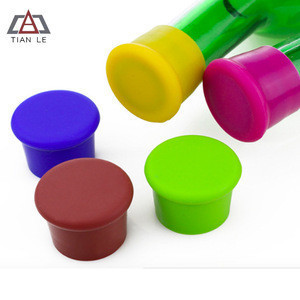 Factory Universal Size Food Grade Silicone Bottle Stoppers Wine Stoppers Support Customized