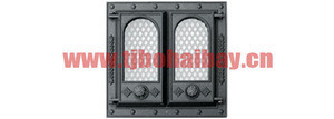 Five years quality assurance fireplace door