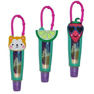 High quality silicone cute colorful lip gloss holder