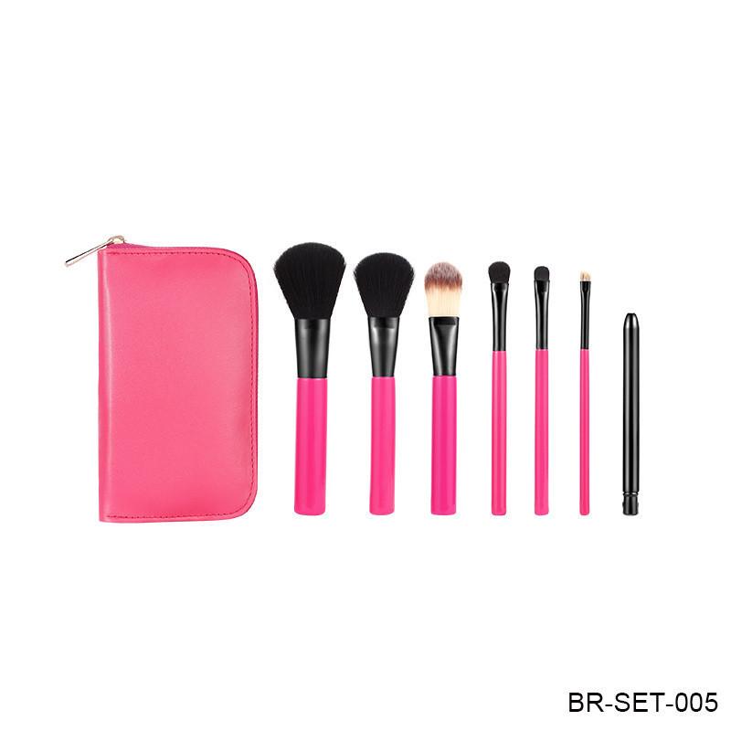 High Quality Soft Synthetic Hair Powder Makeup Brush Foundation Makeup Brush Eye Brushes Set 4PCS