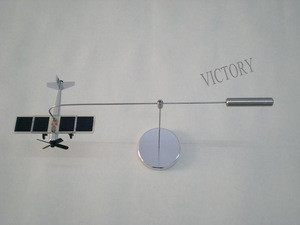 High-strength aluminum alloy Solar Powered Revolving Airplane toy
