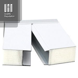Hollow core eps silica sandwich wall panels for warehouse building