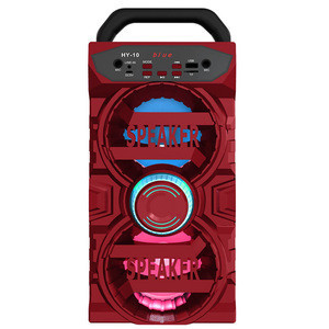 HY-10   WIRELESS MUSIC TOWER  MUSIC CENTRE WITH MEGA BASS 10W 1200MAH  3OHM 2 x 3W LIGHTED LED PANEL DYNAMIC SOUND SYSTEM