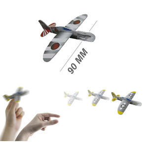Jet set foam airplanes assembly toys DIY glider blind bag 10 designs mixed able to fly over 30 feet