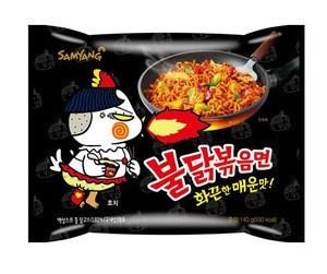 Koraean samyang buldak ramen hot chicken noodle