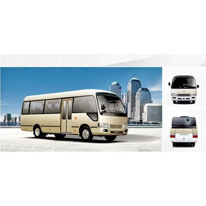 Low price sale China all models brand-new 18 seater coaster bus minibus city vehicle diesel engine