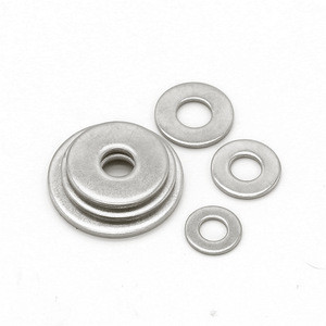 M2 - m48 stamping stainless steel a2 din 125 flat high pressure round beveled washers