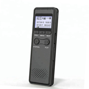 Multifunctional Rechargeable 4GB Digital Audio Dictaphone MP3 Player Digital Voice Recorder With WAV,MP3 Player