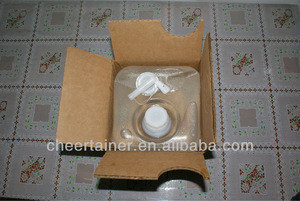Soy Sauce Package cubitainer