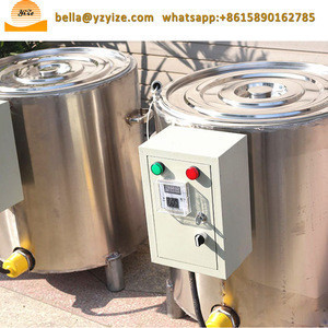 Stainless steel electric double wax heater warmer wax melting machine