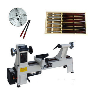 Standard2 woodworking lathe with 6-inch chuck and 6-piece turning tool