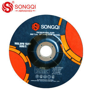 T27 100*6*16mm Abrasive metal cutting grinding wheel for stainless steel
