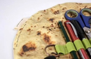 UCHOME  Creative personality simulation burritos pencil bag stationery storage bag simulation food stationery