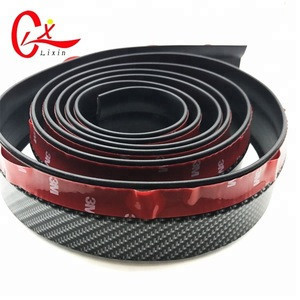 Universal Carbon Fiber Car Rear Automotive Spoilers Rubber Trunk or Rear Roof Lip Spoiler