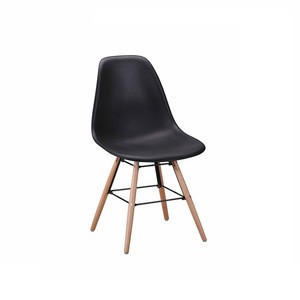Vintage Industrial polypropylene plastic dining chair malaysia